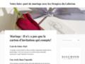 Ballotin dragées mariage et baptême