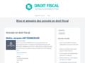 Détails : Droit fiscal