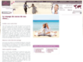 Voyage de noces avec liste de mariage