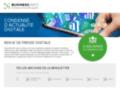 Détails : Revue de presse sur les actualités e-business, e-marketing, e-commerce - ebusiness.info
