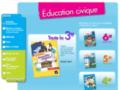 recherche sur internet sur www.education-civique-hatier.com