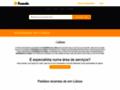 Capture du site http://ejantourismeimmobilier-algarve.com/
