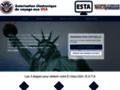 Détails : ESTA Autorisation de voyage officielle pour les USA