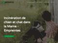 Détails : Empreintes - Prix Incinération chat