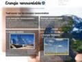 Energies renouvelables Site ressource sur les énergies renouvelables : solaire, géothermie, éolienne, hydraulique, biomasse ... tout savoir sur l'énergie durable, les solutions et l'actualité.