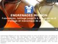 Détails : Engrenages Mignon, Fourniture d'engrenages en Pays de la Loire
