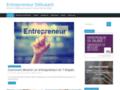 Capture du site http://entrepreneurdebutant.fr/