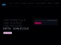 reseau informatique sur www.epita.fr