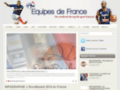 Capture du site http://www.equipes-de-france.fr/