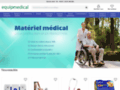 Capture du site http://www.equipmedical.com