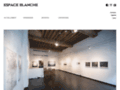 Art contemporain Espace Blanche contemporary art gallery/expositions