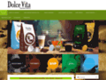 Détails : Caffè Dolce Vita: cafetières et cafés en dosettes