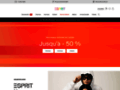 jupe jean sur www.esprit.fr