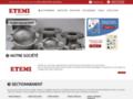 ETEMI - Robinetterie industrielle : vanne, clapet, filtre, compensateurs...
