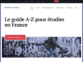 Détails : Le guide pour étudier en France
