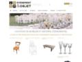 Détails : Le spécialiste de la location de mobilier événementiel