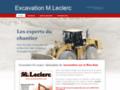 Détails : Excavation M. Leclerc