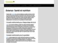 nutrition sur www.extenso.org