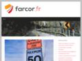 panneau signalisation sur www.farcor.fr