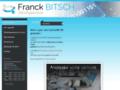 Détails : Développeur de logiciel:  Franck Bitsch Développement vous propose ses services de conception d'outils