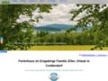 Ferienhaus mit Familie im Erzgebirge