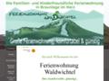 Ferienwohnung Waldwichtel in Braunlage, Familien und Kinderfreundlich