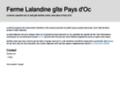 Détails : Votre séjour et vos vacances en Dordogne à la Ferme La Land'ine