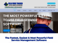 Field Service Management Software Field Force Tracker