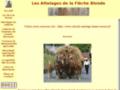 Attelages de la Flèche Blonde -  - Haute Savoie (Thorens glieres)