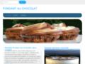 Détails : Cuisson fondant au chocolat - les cuissons desserts au chocolat