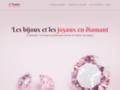 Bijoux diamant en ligne à prix accessibles en ligne