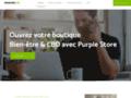 Détails : Franchise CBD & Bien-être avec Purple Store : le n°1 du CBD en France