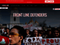 frontline sur www.frontlinedefenders.org