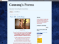 Details : Gaurang's Poetry Blogs
