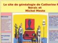 Site généalogique des familles Meste et Nerzic