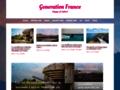 Détails : Generation France, site et blog de voyage