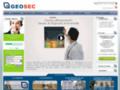 Capture du site http://www.geosec.fr/