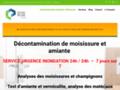 Détails : Décontamination de moisissure et désinfection