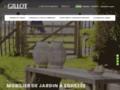 Détails : Meubles de jardin Gillot à Namur