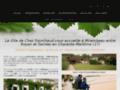 Gîte de Chez Fourchaud : gîte & chambres d'hôtes à Mirambeau en Charente-Maritime (17)