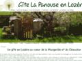 Gîte La Panouse en Lozère