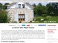 Détails : Location gite pays basque