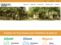 Détails : Gitotel : location chalets, bungalows, mobil home en camping