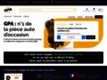 GPA : vente de pièce détachée occasion voiture