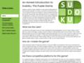 grilles sudoku gratuit
