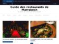 Guide Restaurant Marrakech