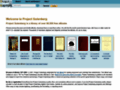Projet Gutenberg - A library of 17000 free ebooks