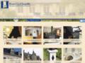 Hadet la Chapelle, taille de pierre à Angers