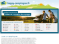 Capture du site http://www.happy-campingcar.fr