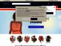 Détails : Pantalon en cuir pour femme Helline